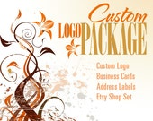 Custom Logo Package & Free Etsy Shop Set