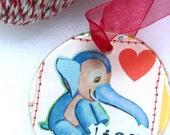 Elephant Joy Ornament