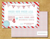 DIGITAL Carnival / Circus Theme Birthday Invitations for MICHELLE