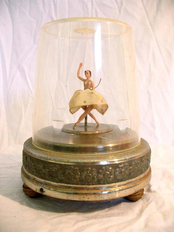 antique music box ballerina 3
