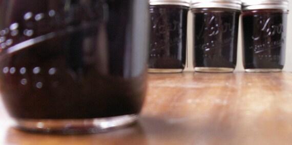 Seedless Blackberry Jam made from Organic Blackberries
