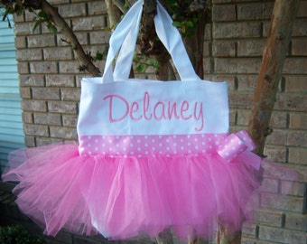 Personalized Tutu Bag
