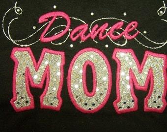 Sparkle Dot Dance Mom Shirt