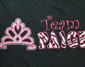 Sparkle dot Pageant  Team Shirt