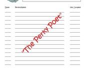 PIF - Christian, Prayer & Praise Lists, PDF forms