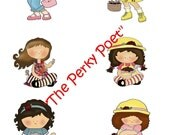Cardmaking Kit, Friendship, Best Friends, Girls Printable Copy, Cute - 3 pages, BUY 2 PDFs, get 1 FREE