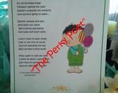 "Birthday Tot Boy Poem, Cute, Funny by ""The Perky Poet"""
