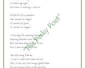 """Time Slips Away Poem, Inspirational by """"The Perky Poet"""", BUY 2 PDFs, get 1 FREE"""