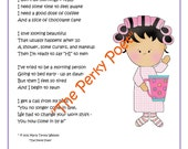 """I Don't Do Mornings Poem, PDF Form, Poetry Cute, Funny Working Girl by """"The Perky Poet"""", BUY 2 PDFs, get 1 FREE"""