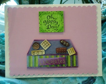 """All Occasion Card, Cute - Oh, Happy Day by """"The Perky Poet"""""""