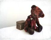 Artist Teddy Dark Chocolate Richard OOAK brown