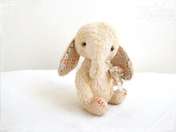 Artist Teddy elephant Peach