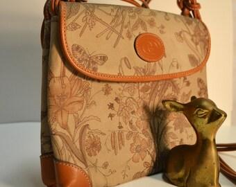 Authentic Vintage Gucci bag purse / Gucci Flora Floral gucci Cucci Flower bag Purse Vittorio Accornero Floral Motif AMAZING rare P