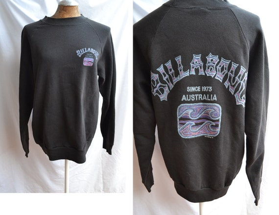 Vintage 80s 90s Billabong Surf Collectible Australia Sweater Large size