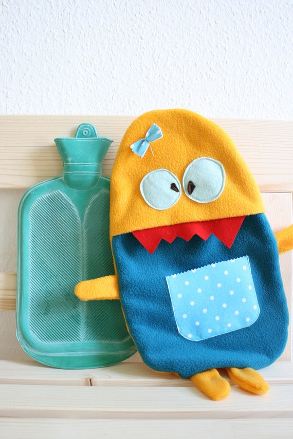 Hot water bottle cover Rosie