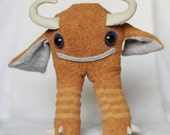 Gonzo - monster plush recycled