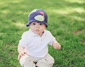 Golf hat for Babies, Hat, Golf 100% USA Grown Cotton Crochet  Perfect Fathers Day Gift  Newborn/12 Months