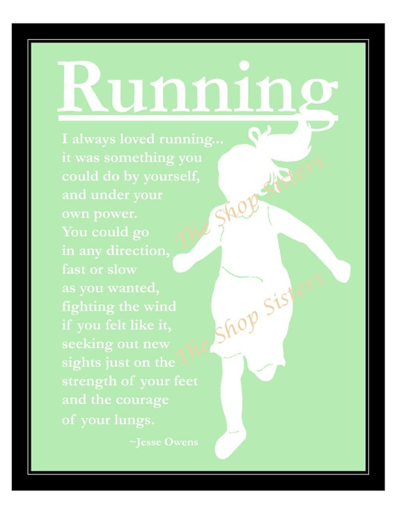 Girl Running Quotes. QuotesGram