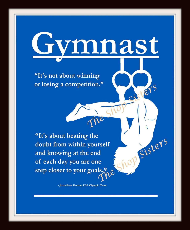 Short Gymnastics Quotes And Sayings: Boy Gymnastics Quotes. QuotesGram