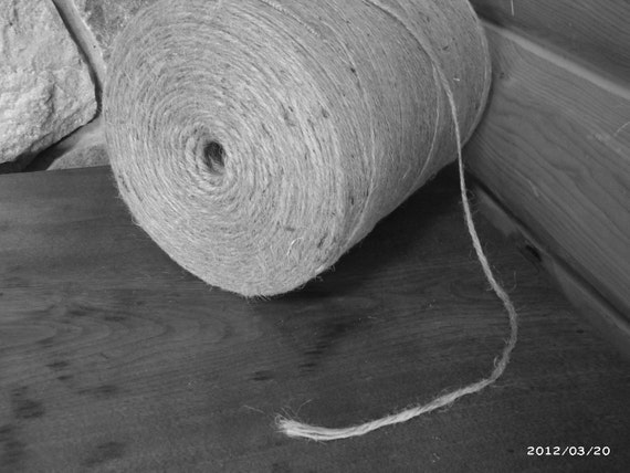 Ships From Michigan - USA - jute, twine, natural, trim, rustic, biodegradable, eco-friendly, dye-free