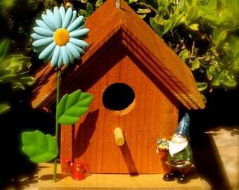 "Title: ""Spring time""  Birdhouse"