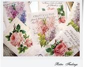 Retro Vintage Romantic Roses Rose Shabby Chic