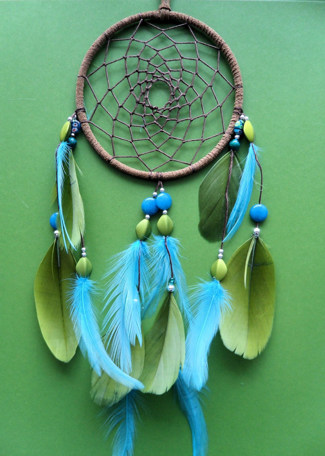 Blue And Green Living Room Ideas: Dream Catcher Green And Blue Modern