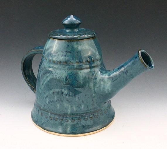 Blue teapot - Clearance