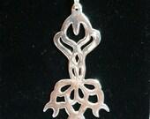 Tara, The Star, silver pendant
