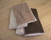 charlotte burp cloths