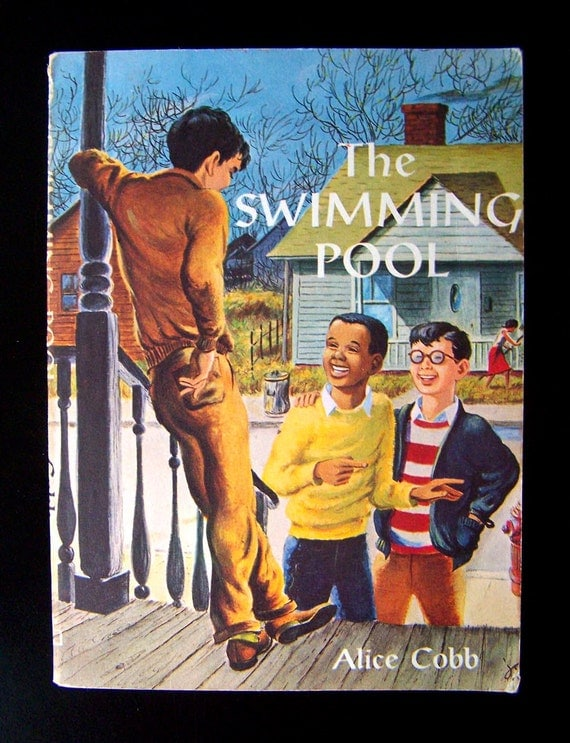 Vintage Civil Rights Book for Children - The Swimming Pool - 1957