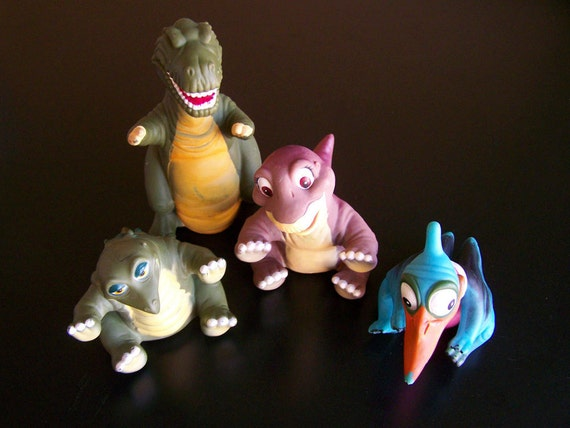 Land Before Time Toys : Vintage children s toys the land before time