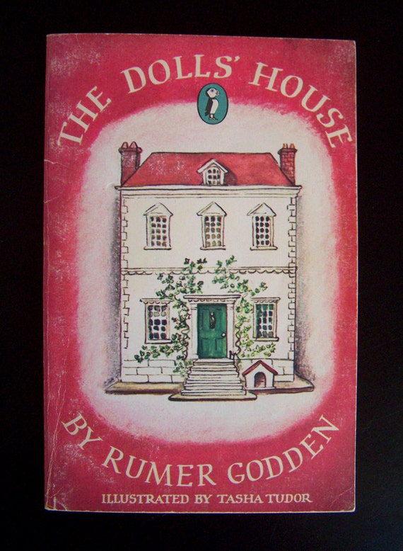 Vintage Children's Book - The Dolls' House - 1976