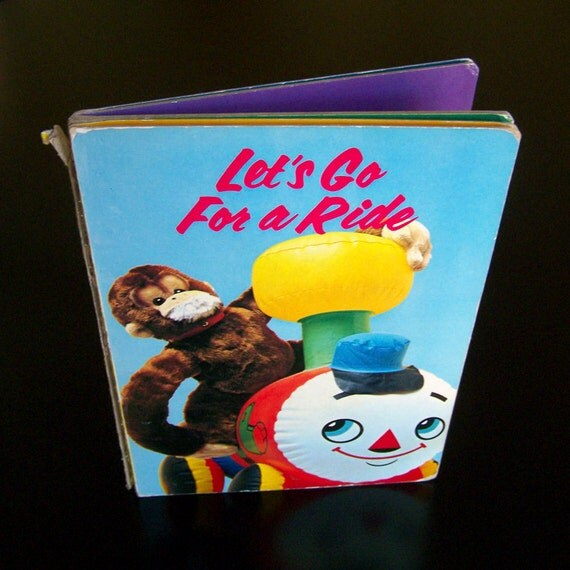 Kid's Book - Let's Go For A Ride - 1968