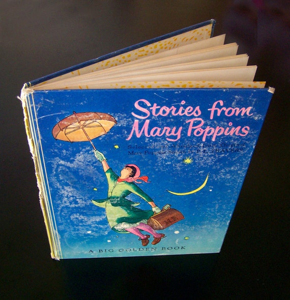 Vintage Big Golden Book - Stories from Mary Poppins - 1952