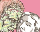 Frankenstein's Monster is a Tit Man