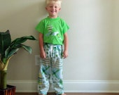 Matching John Deere boy or girl lounge pants and shirt