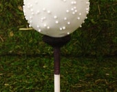 Sports Themed Cake Pops - 1 dozen custom cake pops - golf, baseball, basketball, soccer