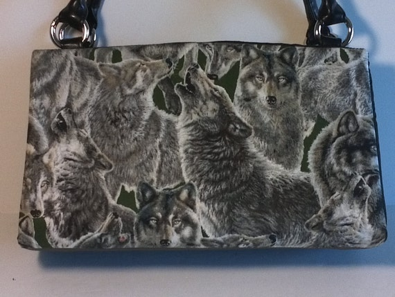 Magnetic Classic Purse Cover Wild Wolves