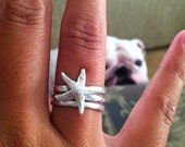 Starfish Ring Set