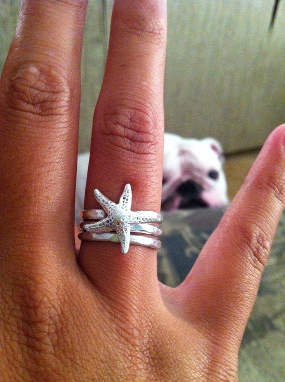 Starfish Ring Set