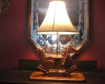 Rocking Dragon Lamp
