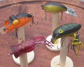 4 Lot Rabble Rouser Fred Arborgast lures collectible vintage ON SALE