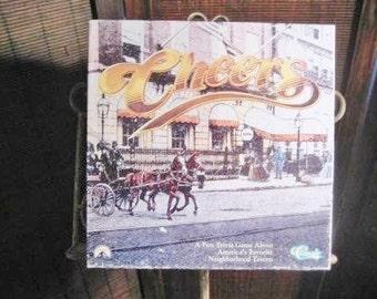 A fun, classic, trivia game CHEERS trivia classic board game