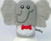Mr. Elephant Finger Puppet