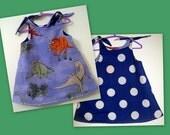 Reversible Dinosaur Dress