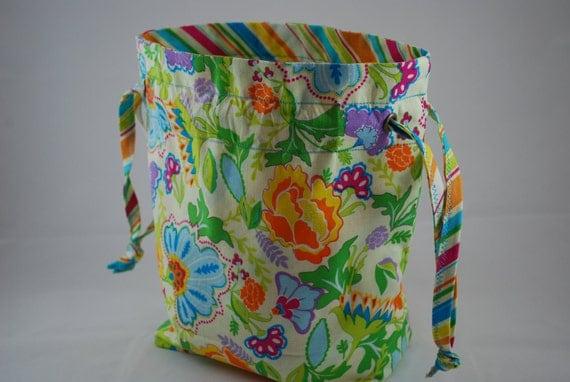 Medium Project - Drawstring Bag - Asian Collection