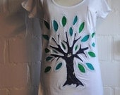 Tree of Hope (size  38-40)- reverse applique  T-shirt
