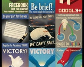 Social Media Propaganda Poster (Limited Edition)