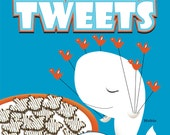 Twitter Social Cereal Poster